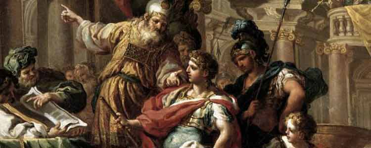 Alexander's Dream and Invasion of Jerusalem